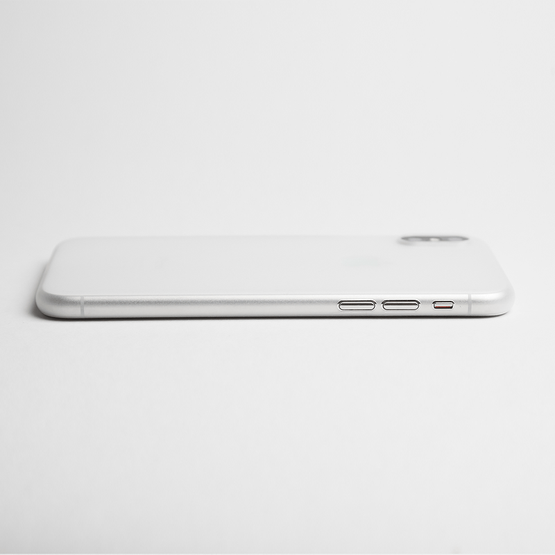 Super dunne iPhone XS 5,8 hoesje  - Frosted transparent