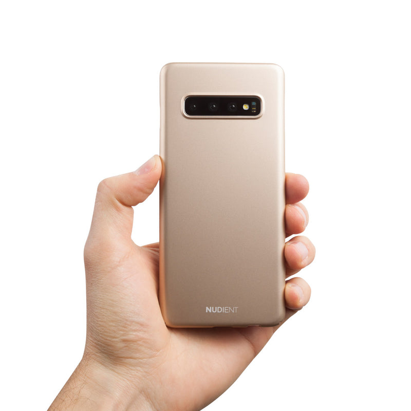 Dun Samsung S10+ Hoesje V2 - Jewelry Gold