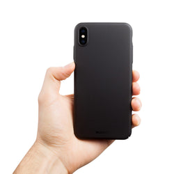 Dun iPhone XS Max Hoesje V2 - Stealth Black