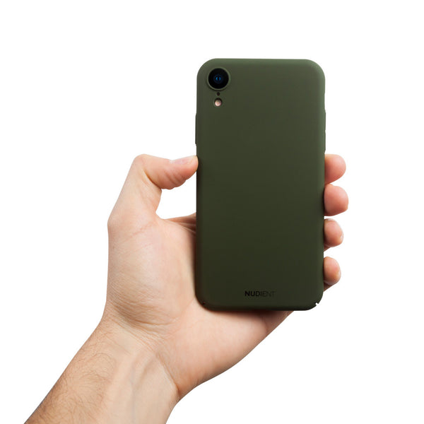 Dun iPhone XR Hoesje V2 - Majestic Green