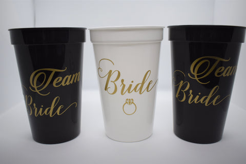 Bridal Bachelorette Cups