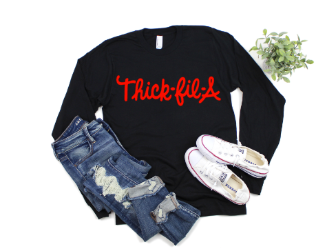 Thick-fil-A Long Sleeves