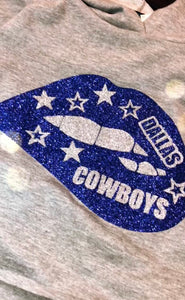 Cowboys lips Shirt