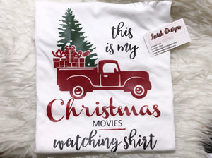 This Is My Christmas Movies Watching Shirt