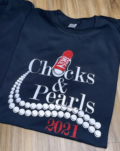 Chucks and Pearls Shirt