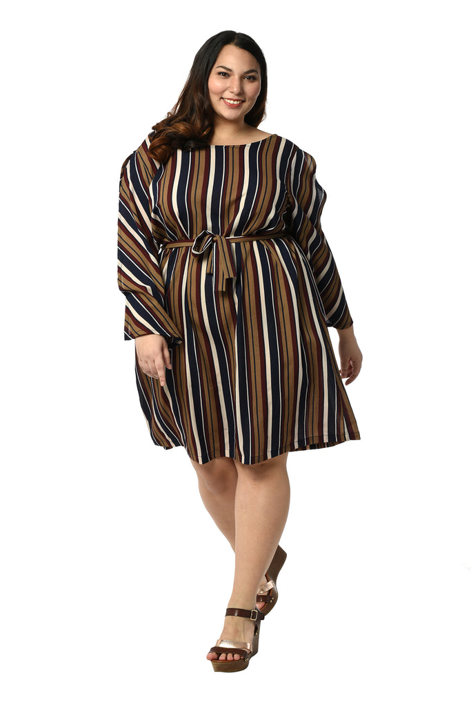 Striped Dress (FDS 023)