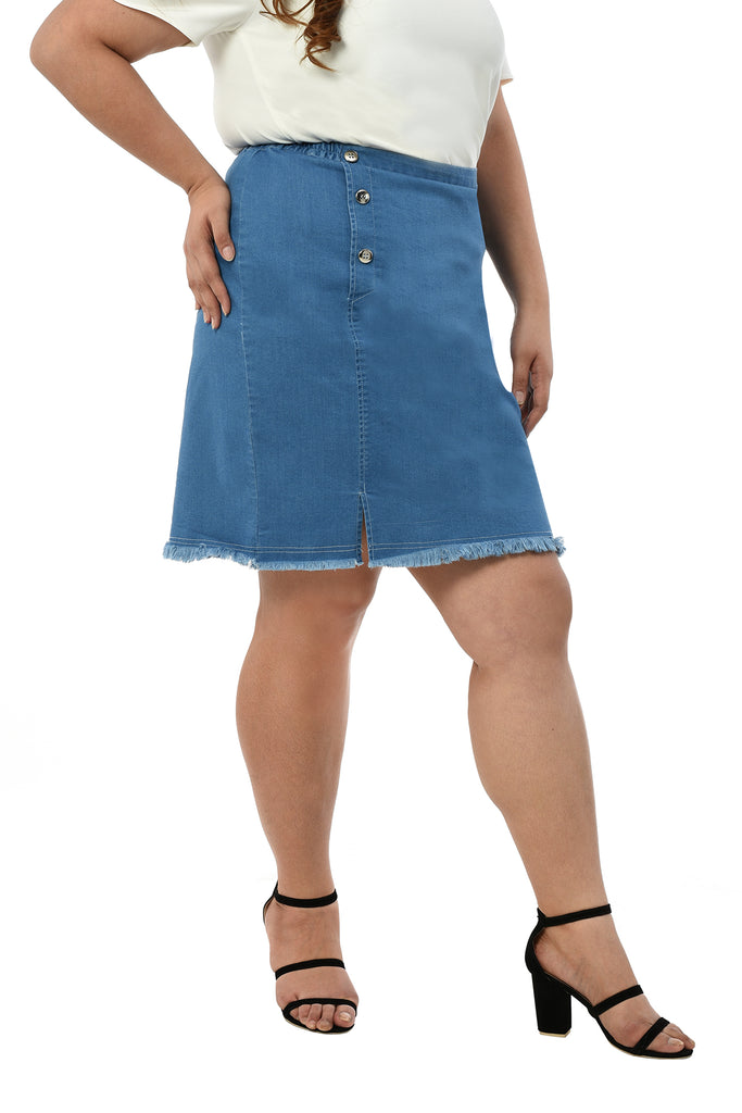 Denim Skirt (FSK 001)