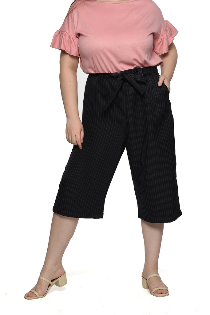 Striped Cropped Pants (FPC 005)