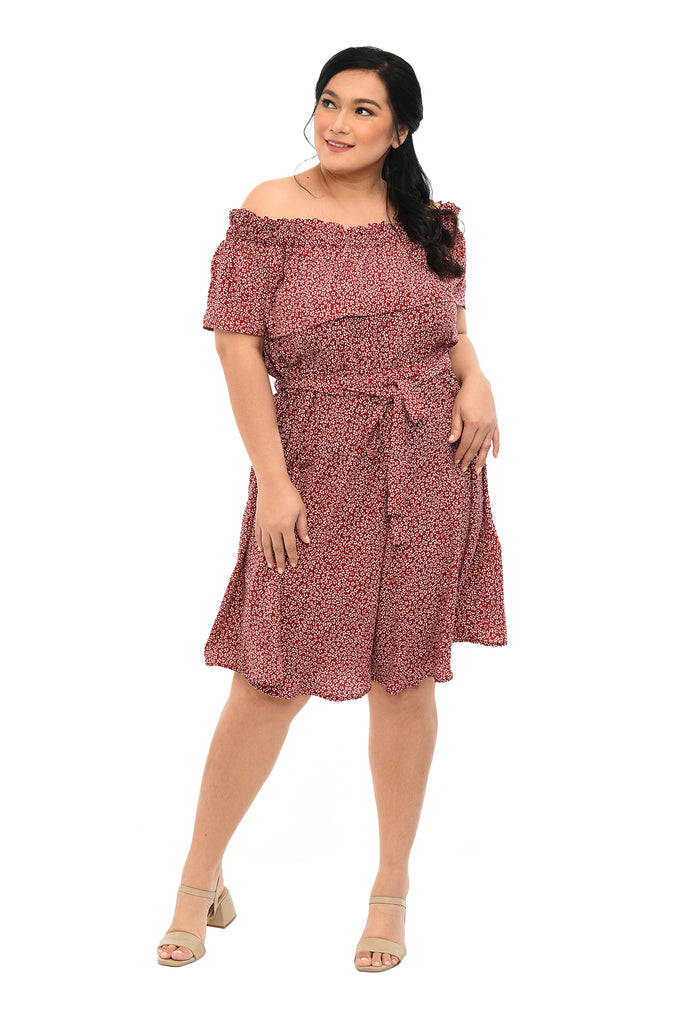 Off-shoulder Dress (FDS 048)