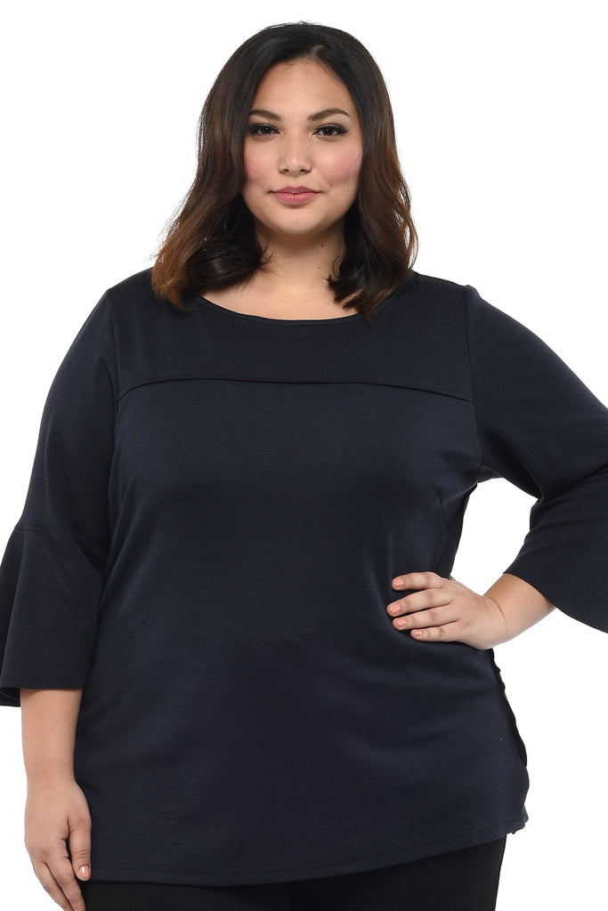 Wideneck Top (FBL 002  Midnight)