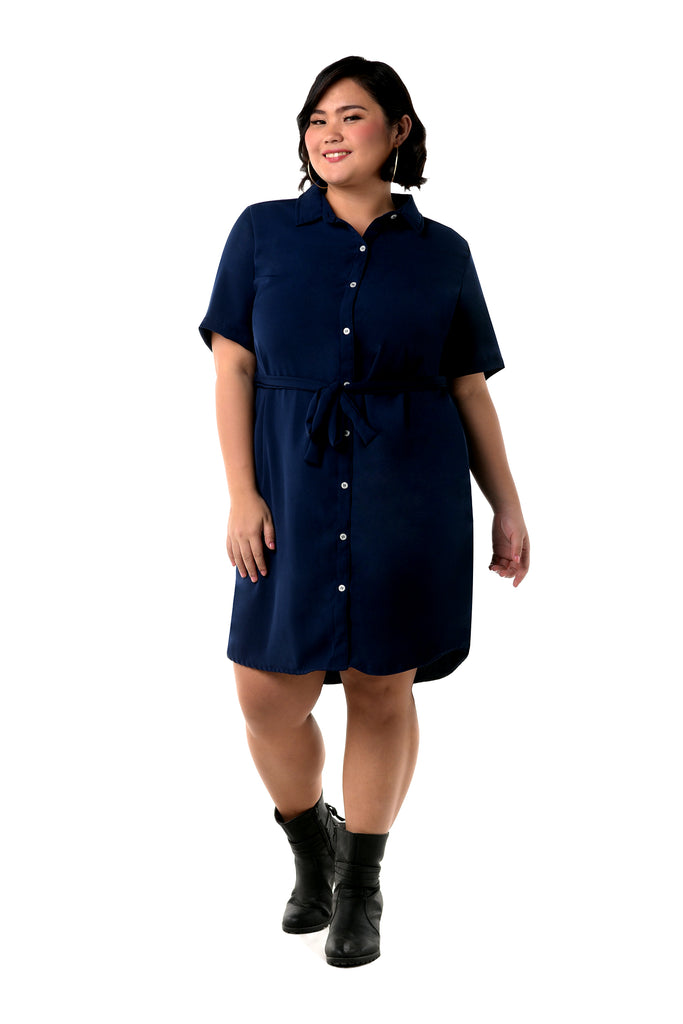 Button-Down Shirt Dress (FDS 010)