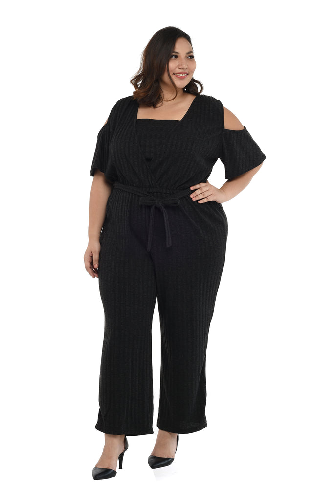 Cold-Shoulder Jumpsuit (FJP 004)