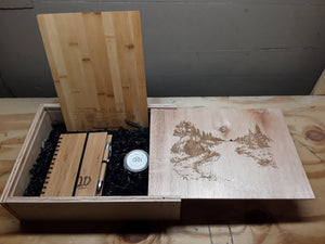 "Custom Engraved Gift Boxes (no gifts) 13"" x 10"" x 4"""
