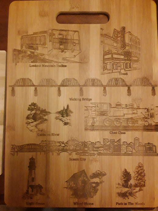Custom Engraved Cutting Board  9 x 12