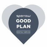 Sparrow Good Plan - Monthly Service
