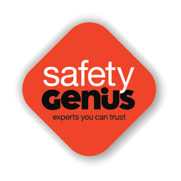 Hazard Panel Double Sided Aluminium – Safety Genius