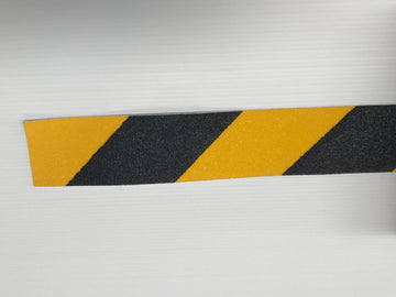 Anti-Slip Tape Yellow Black 50mm (per metre)