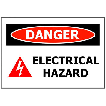 DANGER ELECTRICAL HAZARD