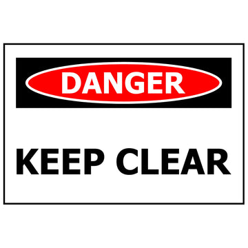300x200 DANGER Keep Clear