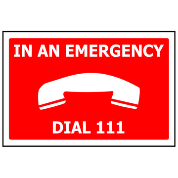 340x240 In An Emergency Dial 111