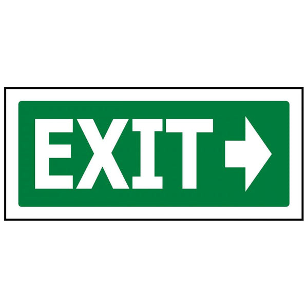 Exit Arrow Left or Right