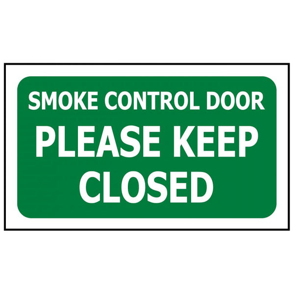 Smoke Control Please Keep Closed