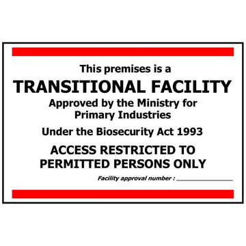 TRANSITIONAL FACILITY