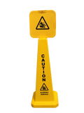 4 Sided Yellow Cone Slippery 925mm