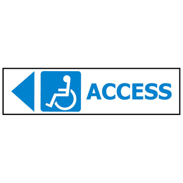 ACCESS DISABLED ARROW LEFT