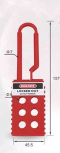 Lockout Hasp Long 45x157