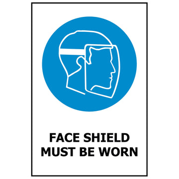 Faceshield Must Be Worn