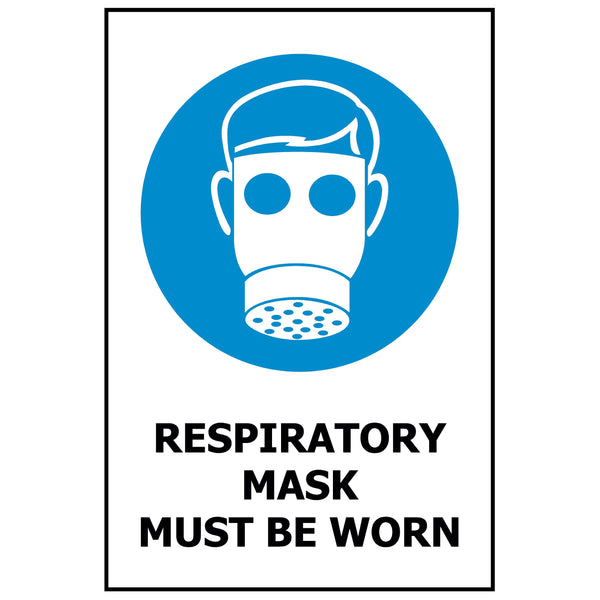 Respiratory Mask Must Be Worn