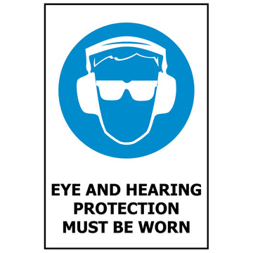 Eye and Hearing Protection Must Be Worn MS614