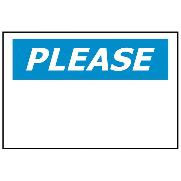 PLEASE Custom Message Printed to your requirements