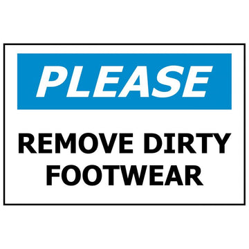PLEASE Remove Dirty Footwear