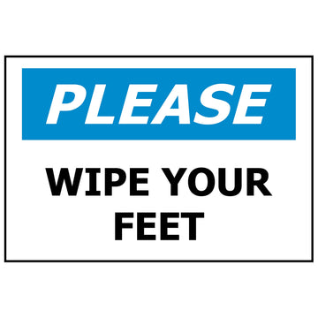 340x240 PLEASE Wipe your feet