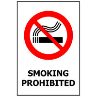 SMOKING PROHIBITED