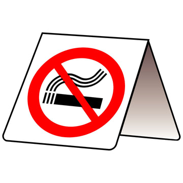 100x100 No Smoking Folded PVC