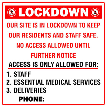Lockdown No Access