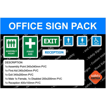 Office Signage Starter Pack