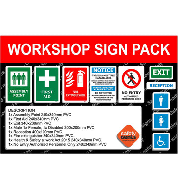 Workshop Signage Starter Pack