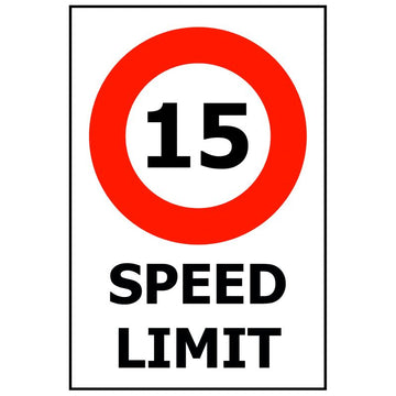 SPEED LIMIT - 15