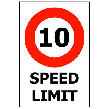 SPEED LIMIT - 10