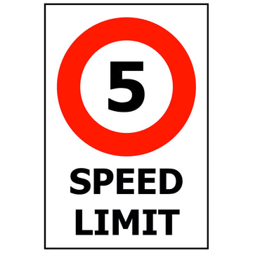 SPEED LIMIT - 5