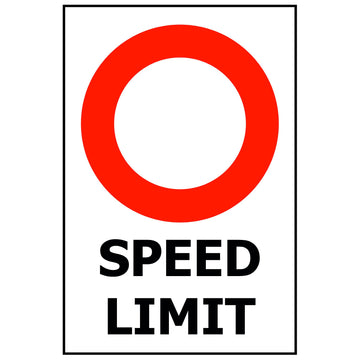 SPEED LIMIT - CUSTOM PRINT