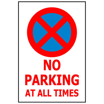 NO PARKING AT ALL TIMES