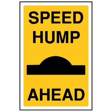 SPEED HUMP AHEAD