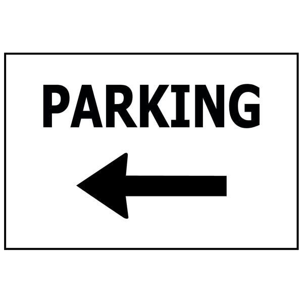 PARKING WITH ARROW