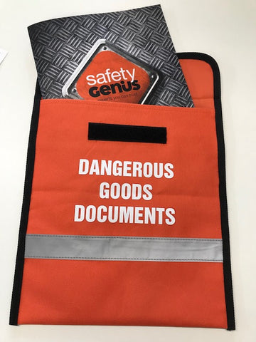 Dangerous Goods Document Holder