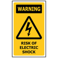 WARNING Risk of Electric Shock WS229